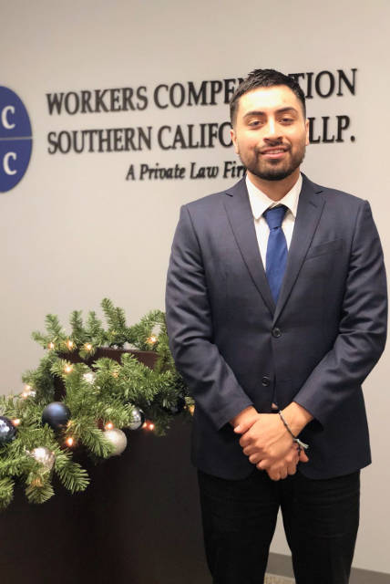 Legal Assistant Robert Cruz